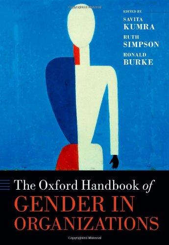 9780199658213: The Oxford Handbook of Gender in Organizations (Oxford Handbooks)