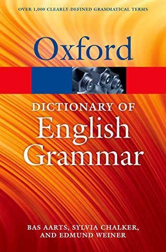 9780199658237: The Oxford Dictionary of English Grammar (Oxford Quick Reference)