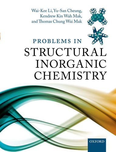 9780199658497: Problems in Structural Inorganic Chemistry