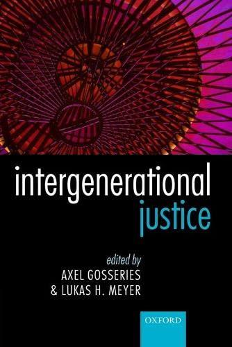 9780199659326: Intergenerational Justice