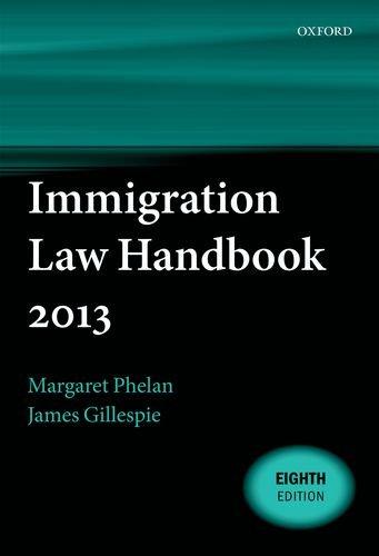 9780199659708: Immigration Law Handbook 2013