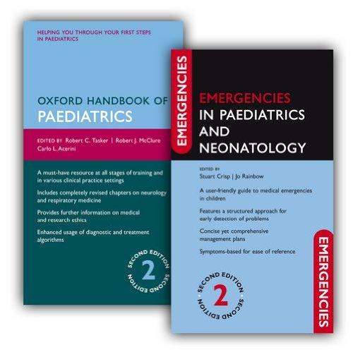 9780199659814: Oxford Handbook of Paediatrics and Emergencies in Paediatrics and Neonatology Pack