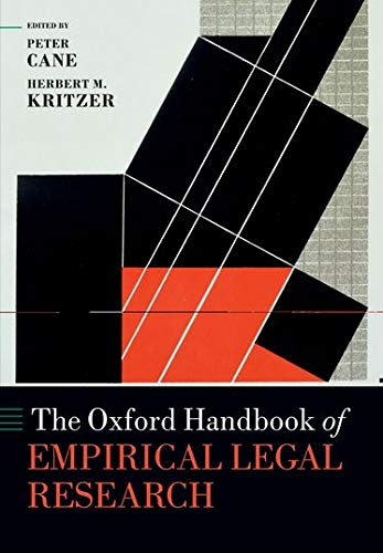 9780199659944: The Oxford Handbook of Empirical Legal Research (Oxford Handbooks)