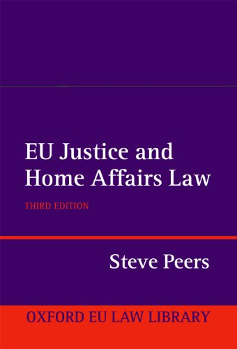 9780199659975: EU Justice and Home Affairs Law (Oxford Eu Law Library)