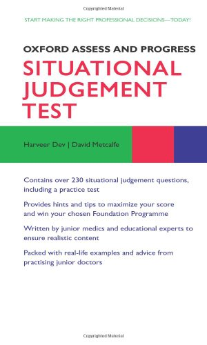 9780199660360: Situational Judgement Test (Oxford Assess and Progress)