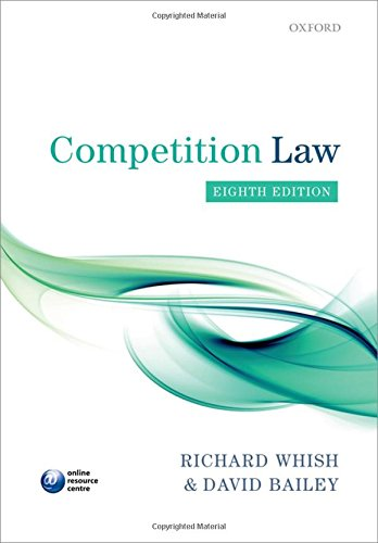9780199660377: Competition Law