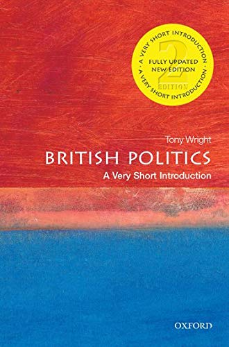 9780199661107: British Politics: A Very Short Introduction (Very Short Introductions)