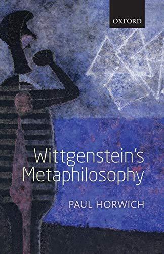 9780199661121: Wittgenstein's Metaphilosophy