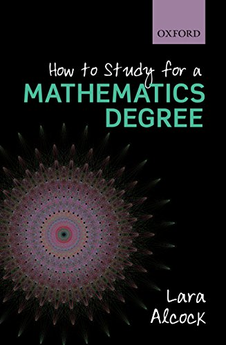 9780199661329: How to Study as a Mathematics Degree