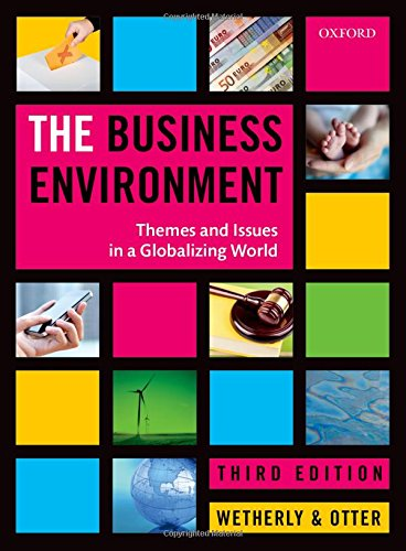 9780199661381: The Business Environment: Themes and Issues in a Globalizing World