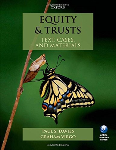 9780199661480: Equity & Trusts: Text, Cases, and Materials