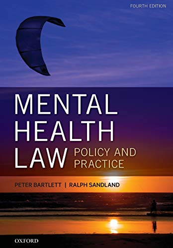 9780199661503: Mental Health Law: Policy and Practice