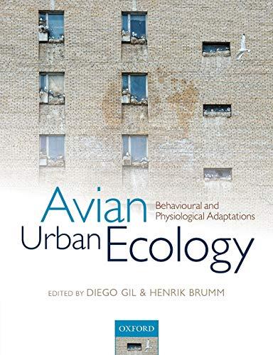 9780199661589: Avian Urban Ecology