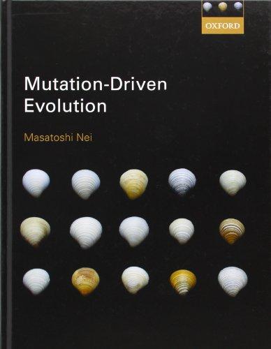 9780199661732: Mutation-Driven Evolution