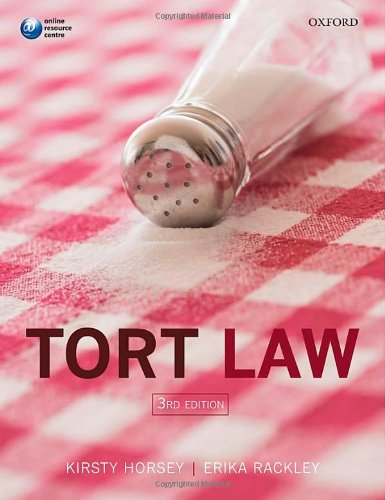 9780199661893: Tort Law