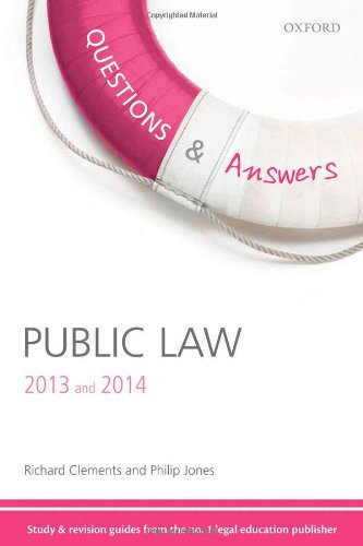 Public Law 2013 and 2014.: Clements, Richard ; Jones, Philip