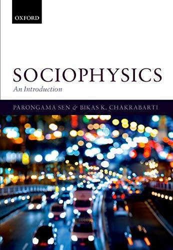 9780199662456: Sociophysics: An Introduction