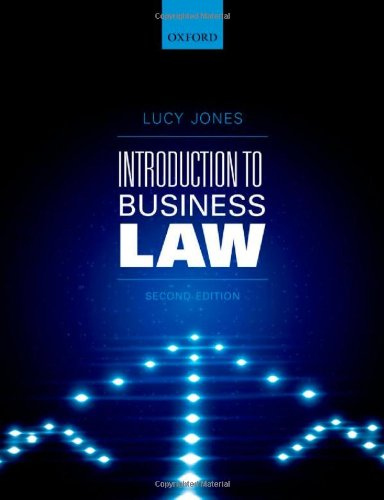 9780199662876: Introduction to Business Law