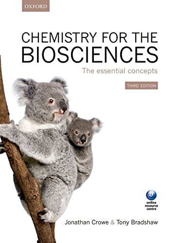 9780199662883: Chemistry for the Biosciences: The Essential Concepts