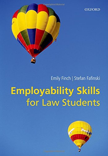 9780199663231 - Finch, Emily: Employability Skills for Law Students - Книга