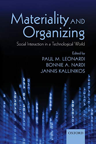 9780199664061: Materiality and Organizing: Social Interaction in a Technological World