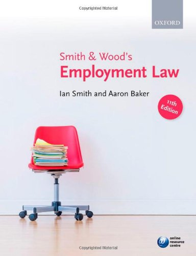 9780199664191: Smith & Wood's Employment Law