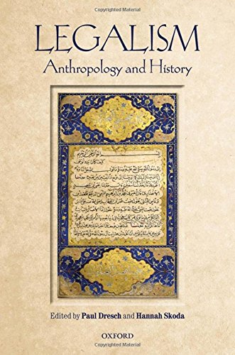 9780199664269: Legalism: Anthropology and History