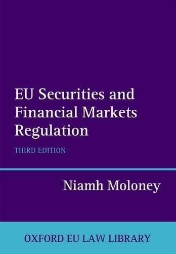 9780199664344: EU Securities and Financial Markets Regulation