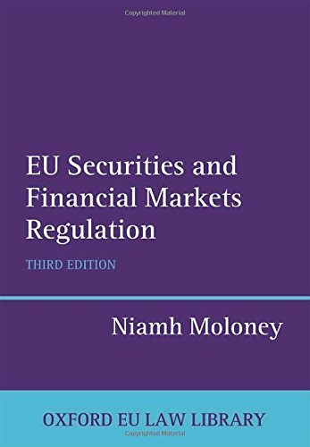 9780199664344 - EU Securities and Financial Markets Regulation 3/e (Oxford European Union Law Library) (Hardcover) - Книга