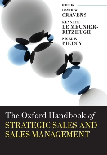 9780199664610: The Oxford Handbook of Strategic Sales and Sales Management (Oxford Handbooks)