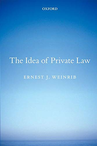 9780199664795: The Idea of Private Law