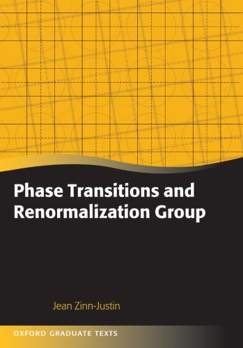 9780199665167: Phase Transitions and Renormalization Group
