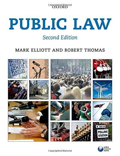 9780199665181: Public Law 2e (Blackstone's Statues Series)