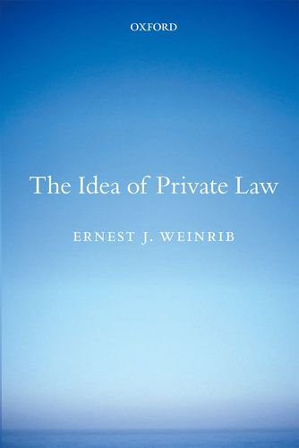 9780199665815: The Idea of Private Law