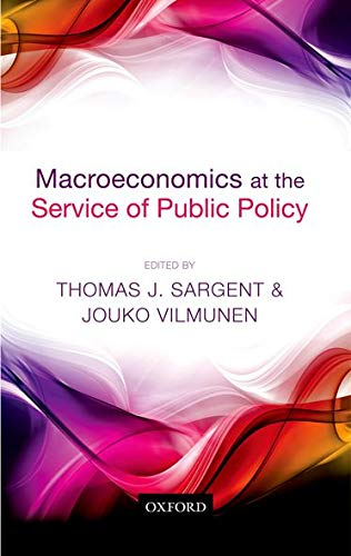 9780199666126: Macroeconomics at the Service of Public Policy