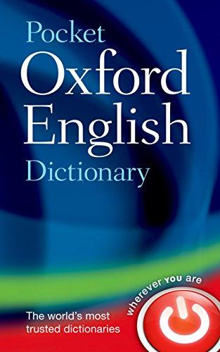 9780199666157: Pocket Oxford English Dictionary