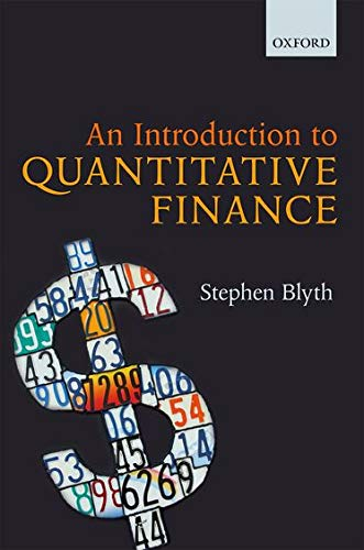 9780199666584: An Introduction to Quantitative Finance