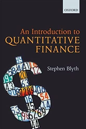 9780199666591: An Introduction to Quantitative Finance