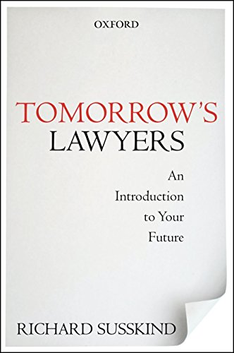 9780199668069: Tomorrow's Lawyers: An Introduction to Your Future