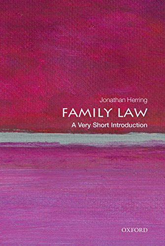 9780199668526: Family Law: A Very Short Introduction (Very Short Introductions)