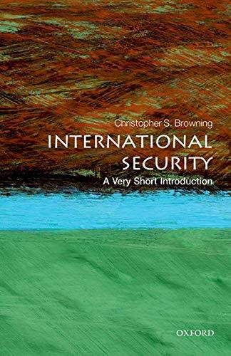 9780199668533: International Security: A Very Short Introduction (Very Short Introductions)