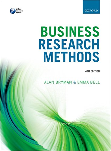 9780199668649: Business Research Methods