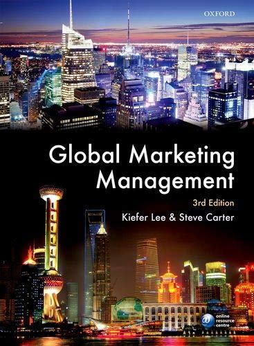 9780199668724: Global Marketing Management