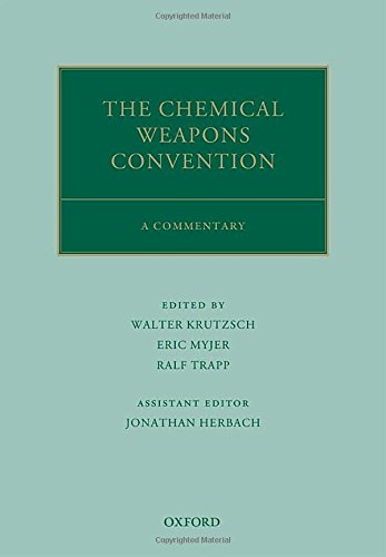 9780199669110: The Chemical Weapons Convention: A Commentary (Oxford Commentaries on International Law)
