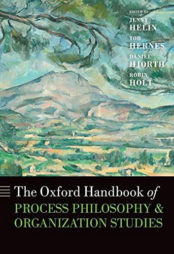 9780199669356: The Oxford Handbook of Process Philosophy and Organization Studies (Oxford Handbooks)