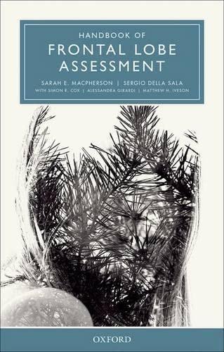 9780199669523: Handbook of Frontal Lobe Assessment