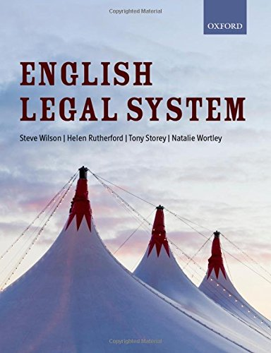 English Legal System (Directions): Wilson, Steve and