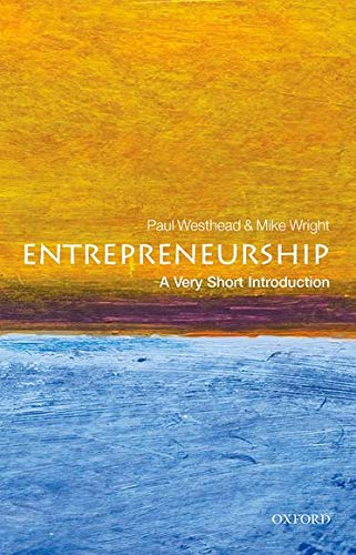 9780199670543: Entrepreneurship: A Very Short Introduction (Very Short Introductions)