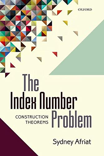 9780199670581: The Index Number Problem: Construction Theorems