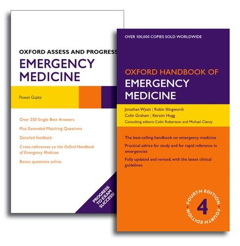 9780199670659: Oxford Handbook of Emergency Medicine and Oxford Assess and Progress: Emergency Medicine Pack (Pack) (Oxford Medical Handbooks)
